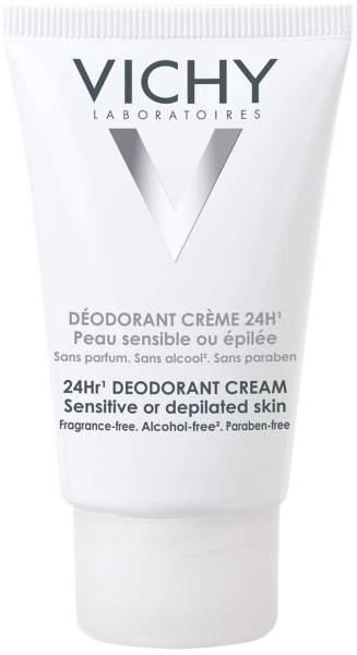 Vichy Deodorant Creme für sehr empfindliche oder epilierte Haut 40 ml Creme