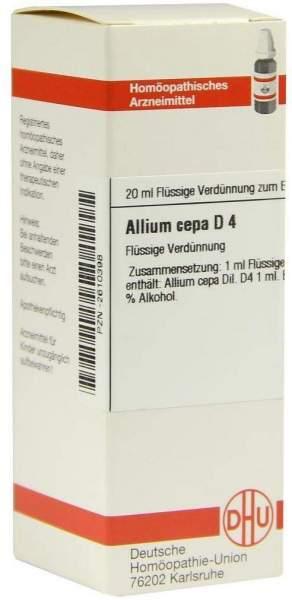 Allium Cepa D4 20 ml Dilution