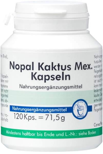 Nopal Kaktus Mex Kapseln