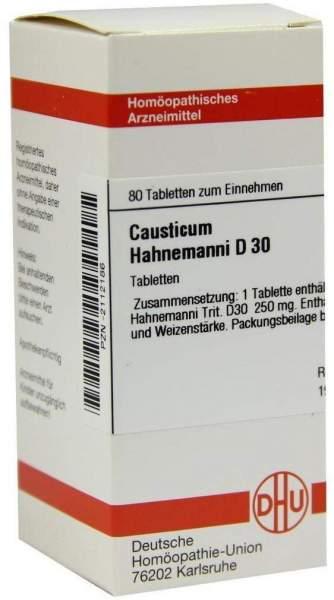 Causticum Hahnemanni D 30 80 Tabletten