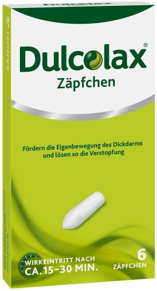 Dulcolax 6 Zäpfchen