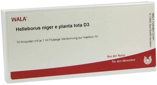 Helleborus Niger E Planta Tota D 3 Ampullen