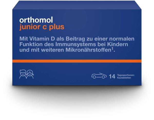 Orthomol Junior C Plus 14 Kautabletten