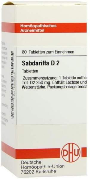 Sabdariffa D 2 80 Tabletten