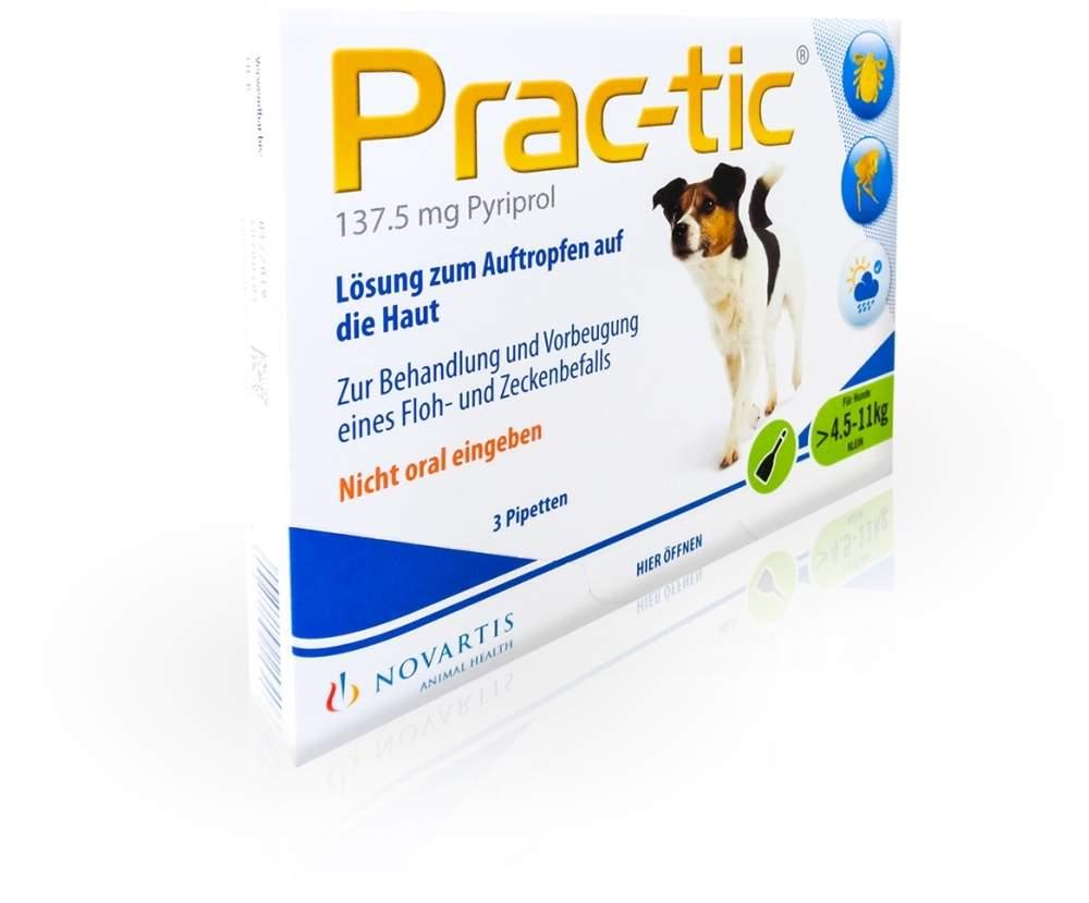 Prac-Tic Für Kleine Hunde 4,5-11kg Einzeldosisp...