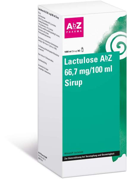 Lactulose Abz 66,7 G Pro 100 ml 1 L Sirup