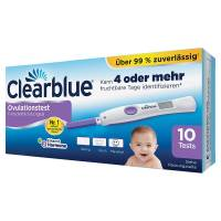 Clearblue Ovulationstest Fortschrittlich & Digital 10 Tests