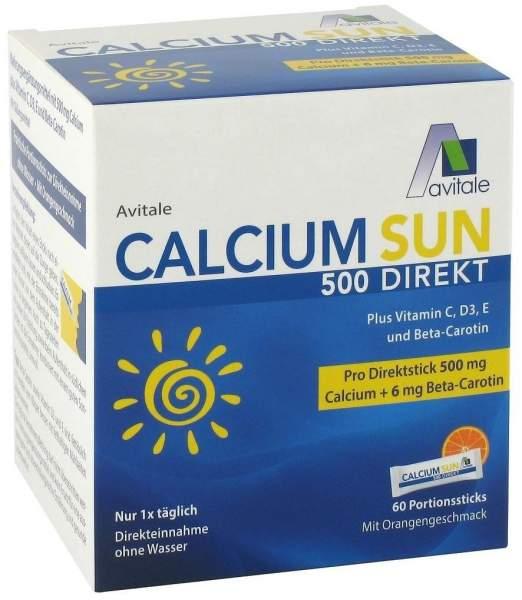 Calcium Sun 500 Direkt 60 Portionssticks