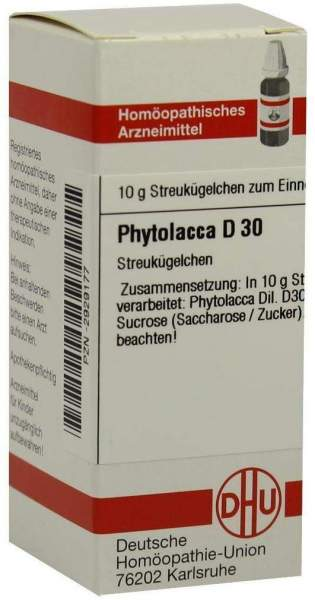 Phytolacca D 30 10 G Globuli