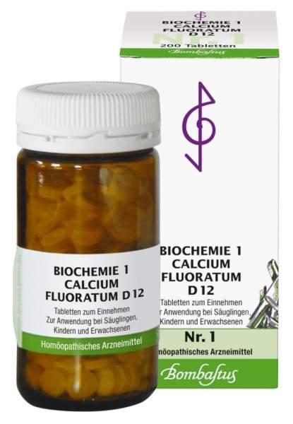 Biochemie 1 Calcium fluoratum D12 200 Tabletten