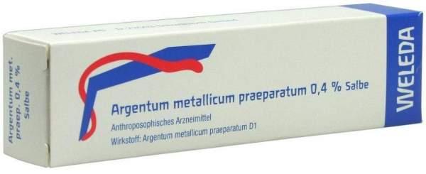 Weleda Argentum Metallicum Praeparatum 0,4% Salbe