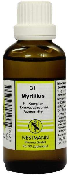 Myrtillus F Komplex 31 50 ml Dilution