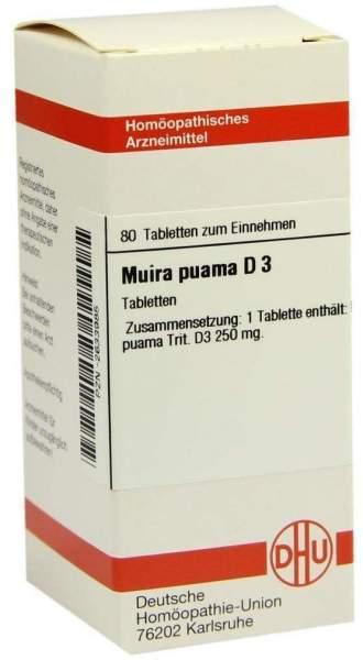 Dhu Muira Puama D3 Tabletten