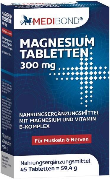 Magnesium 300 mg Medibond 45 Tabletten