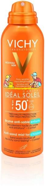 Vichy Ideal Soleil Anti Sand Kinder LSF50+ 200 ml Creme