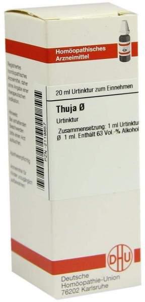 Thuja Urtinktur 20 ml Dilution