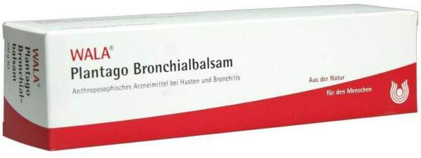 Plantago Bronchialbalsam 100 G Salbe
