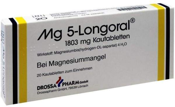 Mg 5 Longoral 20 Kautabletten