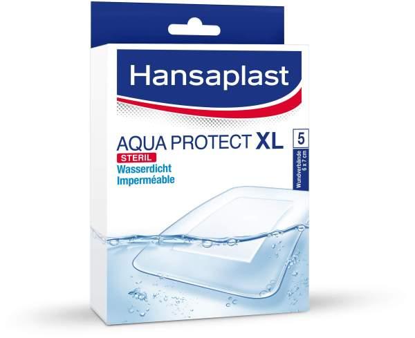 Hansaplast Aqua Protect Xl Pflaster 6 x 7 cm 5 Pflaster