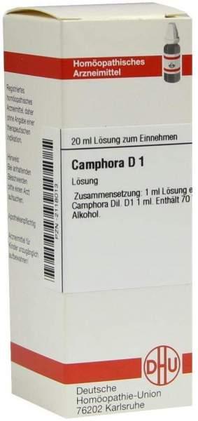 Camphora Urtinktur 20 ml Dilution