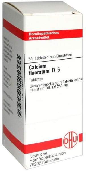 Calcium Fluoratum D6 80 Tabletten
