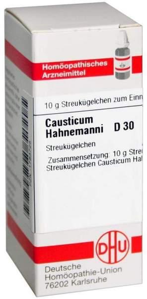 Causticum Hahnemanni D 30 Globuli