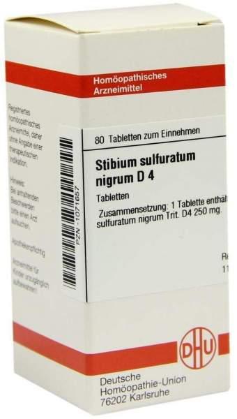Stibium Sulfuratum Nigrum D4 Tabletten 80 Tabletten