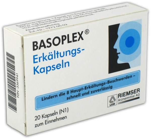 Basoplex 20 Erkältungskapseln