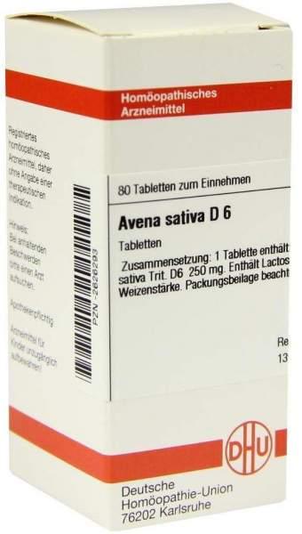 Avena Sativa D6 80 Tabletten
