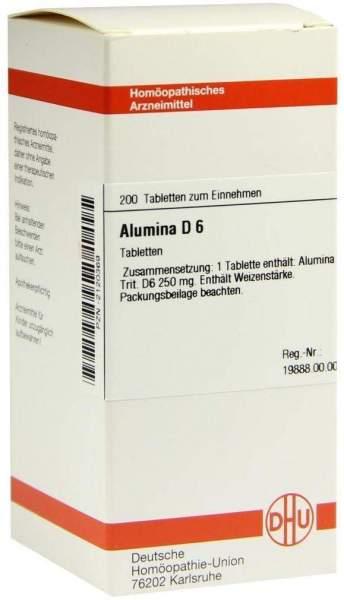 Alumina D6 200 Tabletten