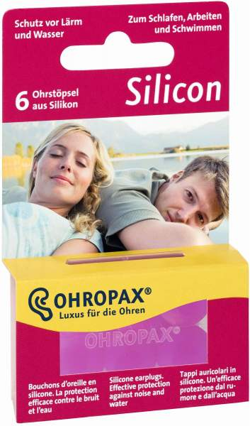 ohropax silicon ohrst psel 6 st ck von ohropax gmbh online. Black Bedroom Furniture Sets. Home Design Ideas