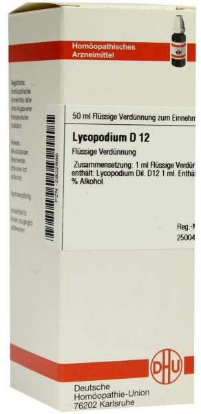 Lycopodium D12 Dilution 50 ml Dilution