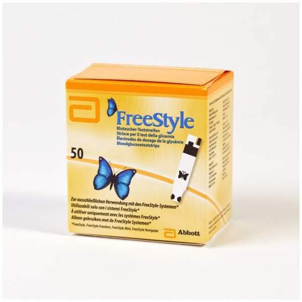 Freestyle 50 Teststreifen