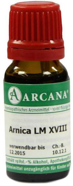 Arnica Lm 18 Dilution 10ml