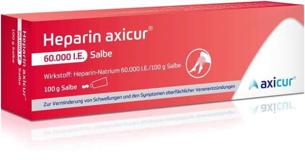 Heparin Axicur 60.000 I.E. 100 g Salbe