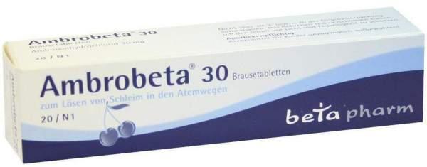 Ambrobeta 30 20 Brausetabletten
