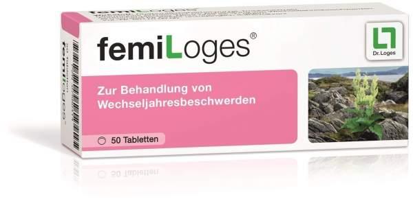 Femi Loges 50 magensaftresistente Tabletten