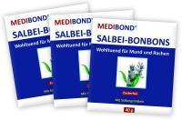 Salbei Bonbons zuckerfrei Medibond 3 x 40 g