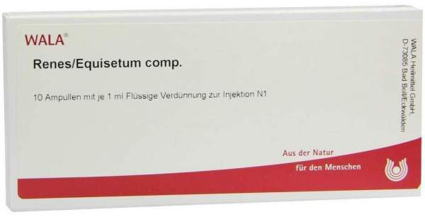 Renes Equisetum Comp. Ampullen 10 X 1 ml