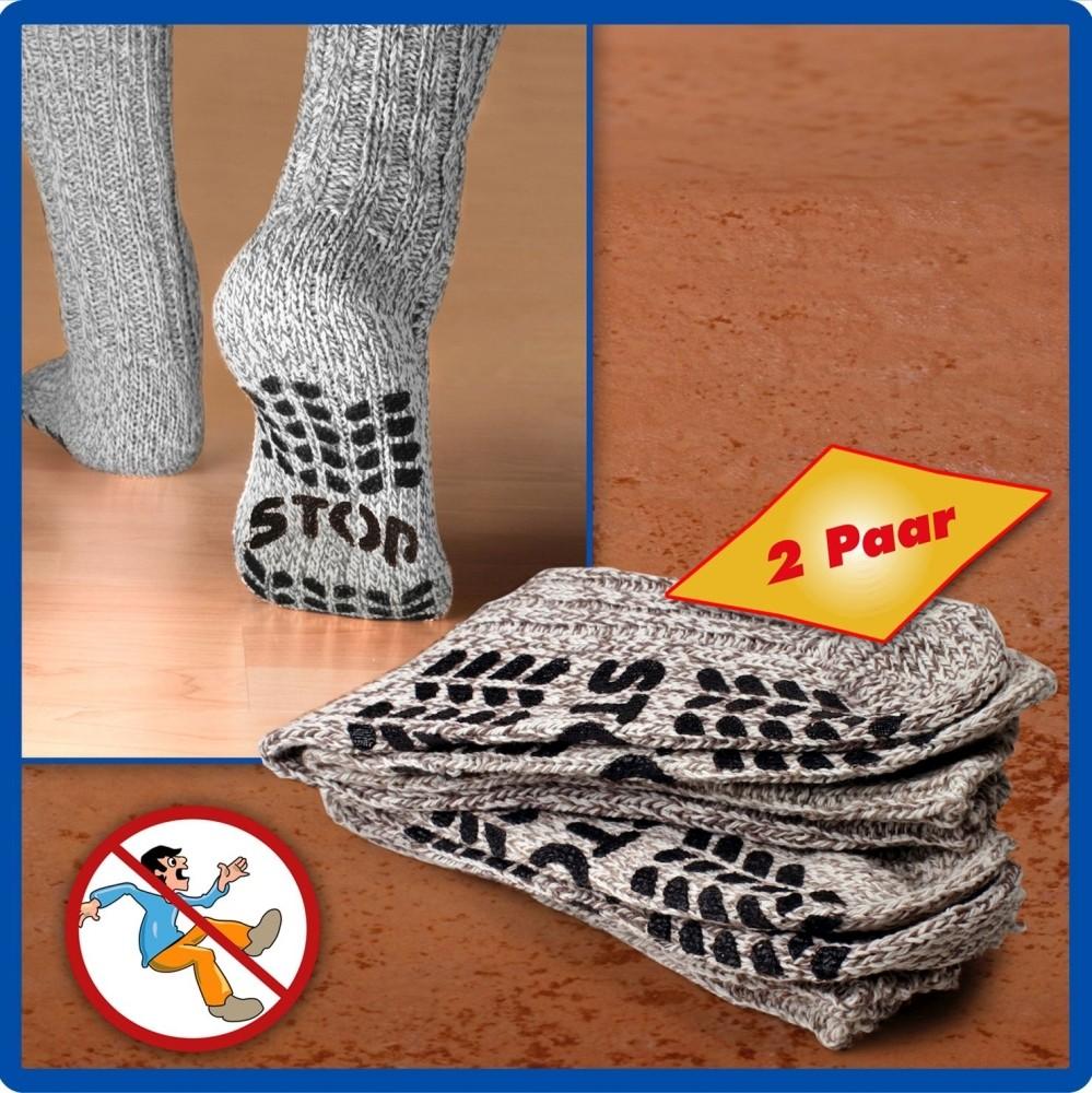 Anti-Rutsch Socken Gr.35-38 2er Set