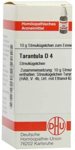 Tarantula D 4 Globuli