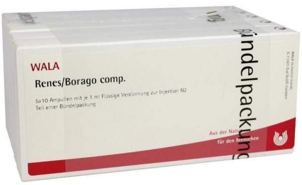 Renes Borago Comp. Ampullen 50 X 1 ml