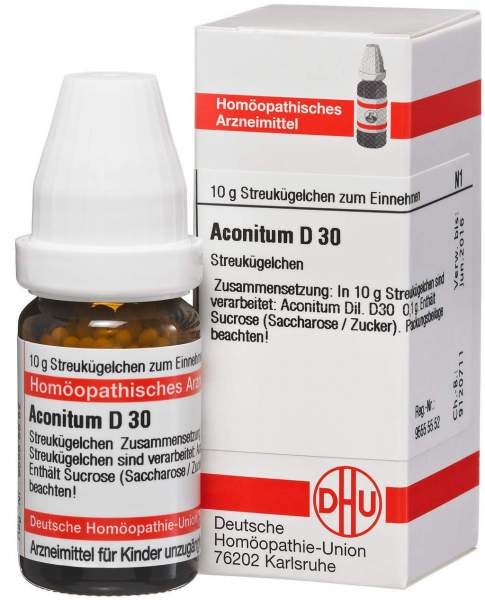 Aconitum D30 10 G Globuli
