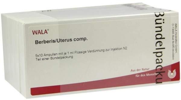 Berberis Uterus Comp. Ampullen 50 X 1 ml