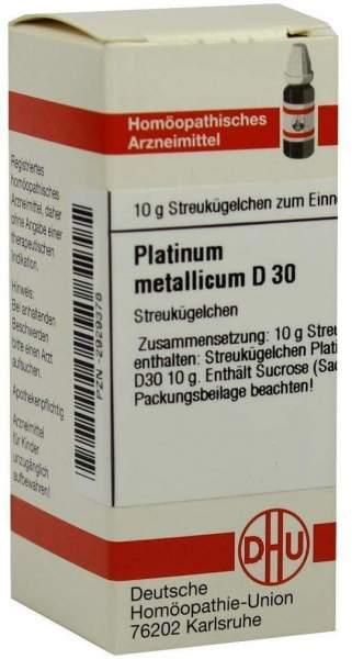 Platinum Metallicum D 30 Globuli