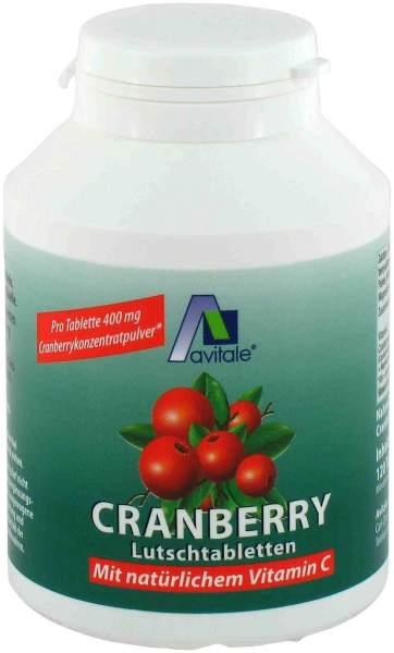Cranberry Lutschtabletten 120 Lutschtabletten