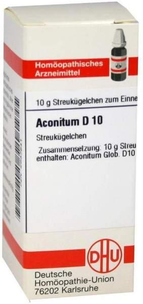 Aconitum D10 10 G Globuli
