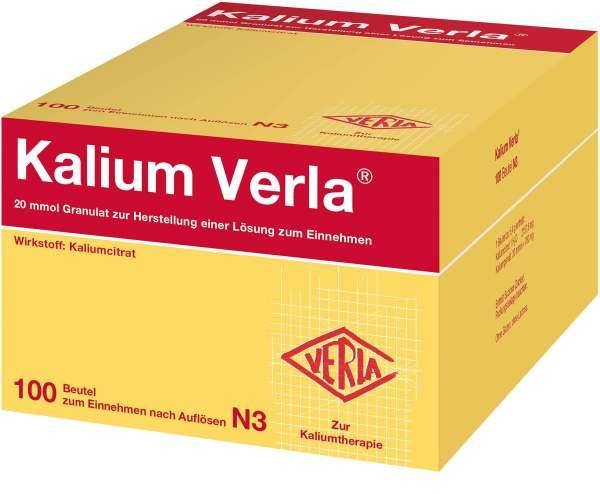 Kalium Verla Granulat 100 Beutel
