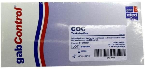 Drogentest Kokain Teststreifen 10 Stück