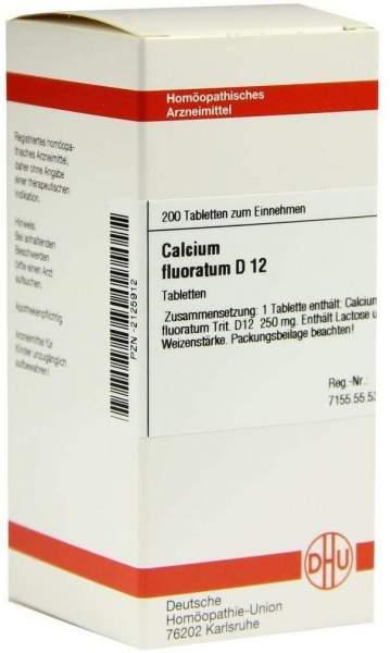 Calcium Fluoratum D12 200 Tabletten